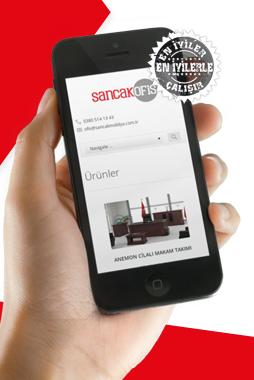 Yeni responsive tasarımıyla, Sancak Ofis web sitesi sizlerle!