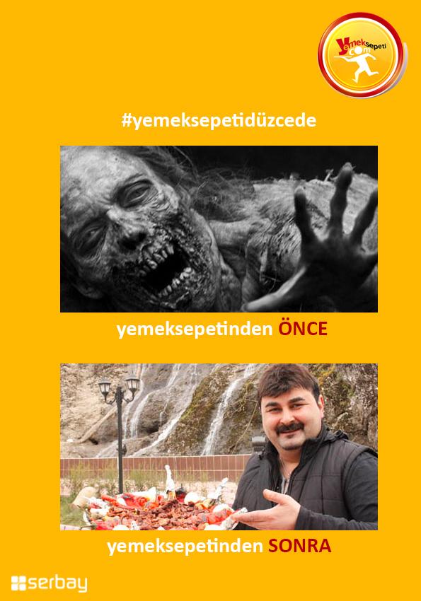 Yemek Sepeti Düzce'de!