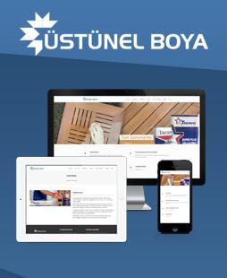 Üstünel Boya Web Sitesi Yayında.