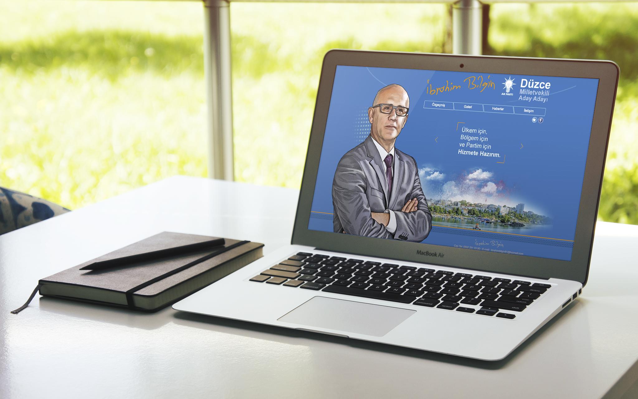 İbrahim Bilgin Web Sitesi Yayında