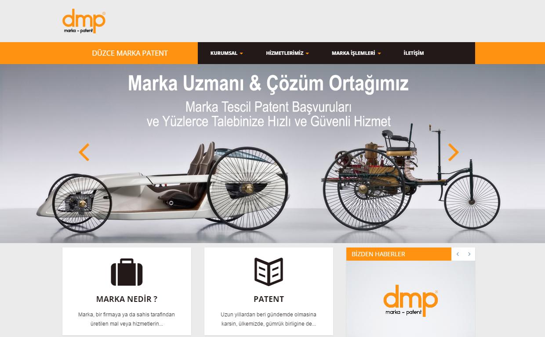 DMPnin Web Sitesini Yeniledik!
