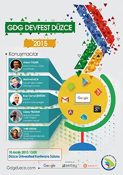 Bu yıl yeniden GDG DevFest Düzce'de olacağız.