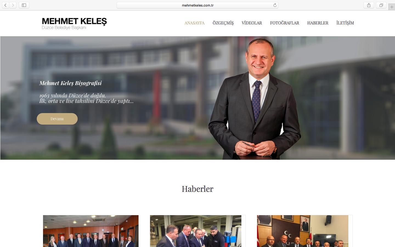 Mehmet Keleş | Düzce Belediye Başkanı