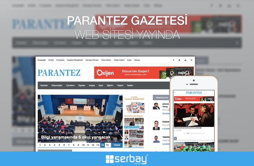 Parantez Gazetesi Web Sitesi Yenilendi