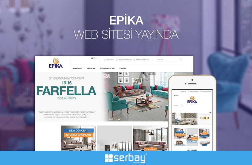 Epika Web Sitesi Yayında