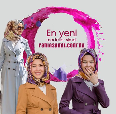 En yeni modeller şimdi www.rabiasamli.com'da!