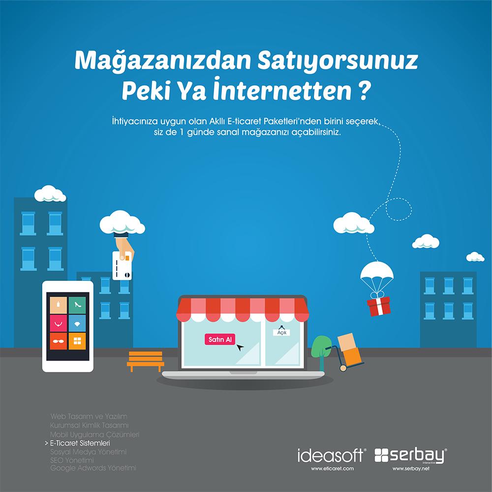 Mağazanızdan Satıyorsunuz Peki Ya İnternetten?
