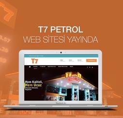 T7 Petrol Web Sitesi Yayında!