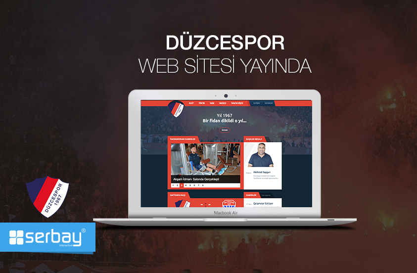 Düzcespor web sitesi yayında.