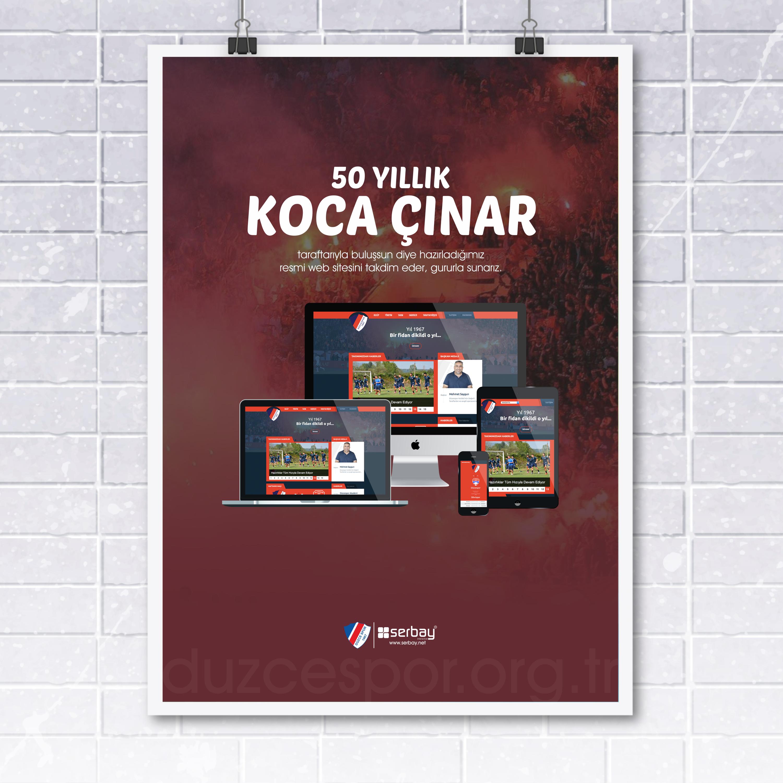 50 Yıllık Koca Çınar taraftarıyla buluşsun diye hazırladığımız web sitesini takdim eder, gururla sunarız.