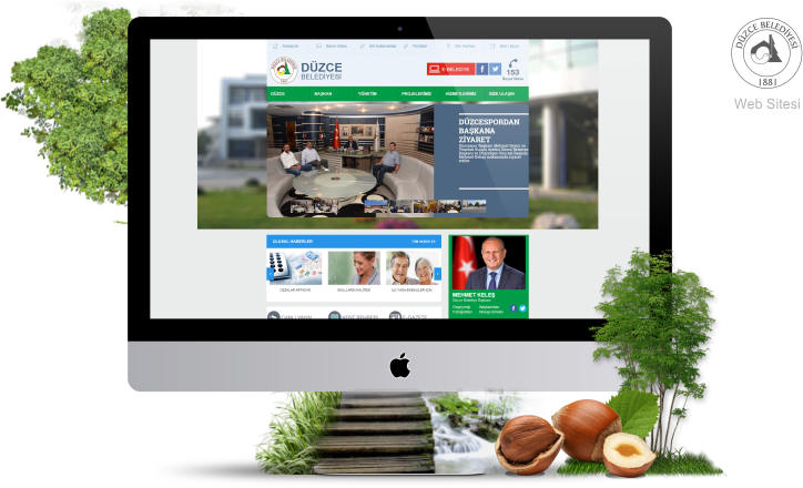 Düzce Belediyesi - Web Sitesi