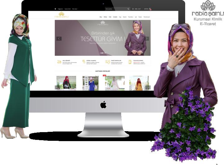 Rabia Şamlı - Kurumsal Kimlik, E-Ticaret