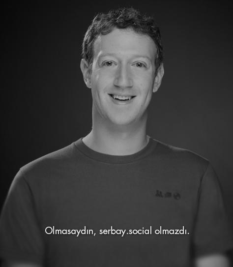 Olmasaydın, serbay.social olmazdı.