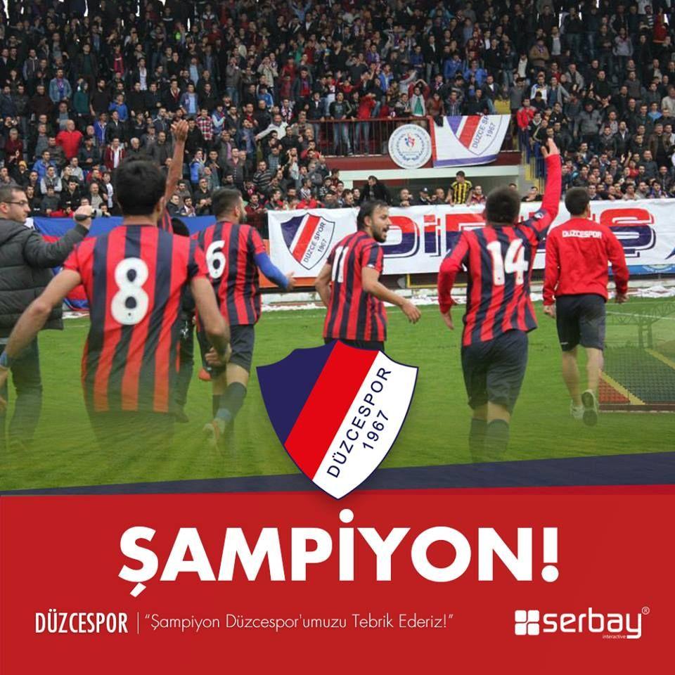 Şampiyon Düzcespor'umuzu Tebrik Ederiz! #Şampiyon #Düzcespor