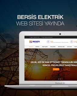Bersis Elektrik Web Sitesi Yenilendi!