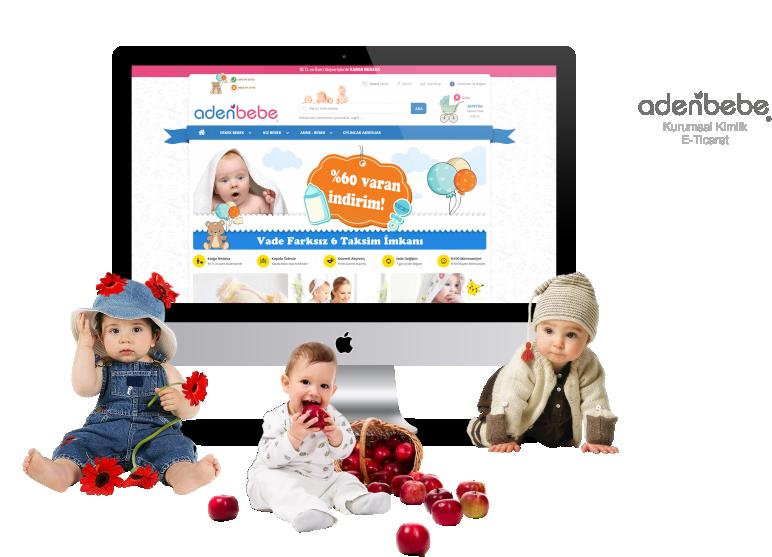 Aden Bebe - Kurumsal Kimlik, E-Ticaret