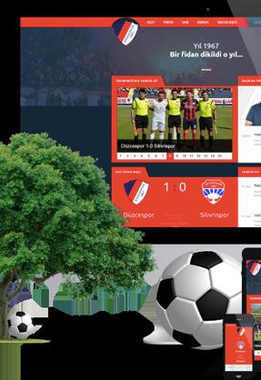 Düzcespor Web Sitesi Yayında!