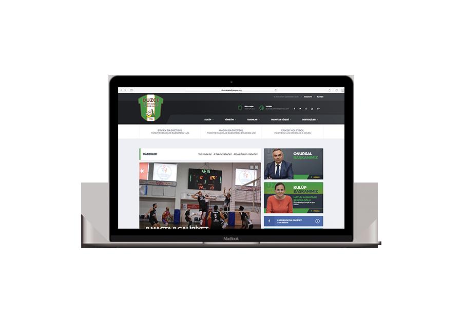 Düzce Belediye Gençlik Ve Spor Kulübü web sitesini incelemek için tıklayınız.