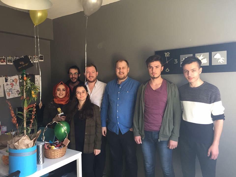 Art Direktörümüz Aynur'un doğum gününden...