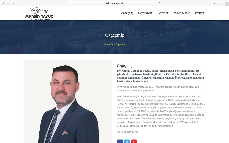 MuhsinYavuz - Çilimli Belediyesi Başkanı