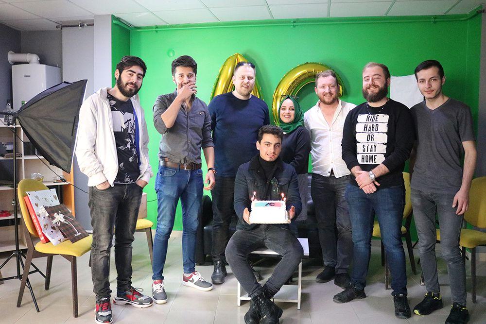 Serbaygiller olarak Aynur Can'ın doğum gününü kutladık :)