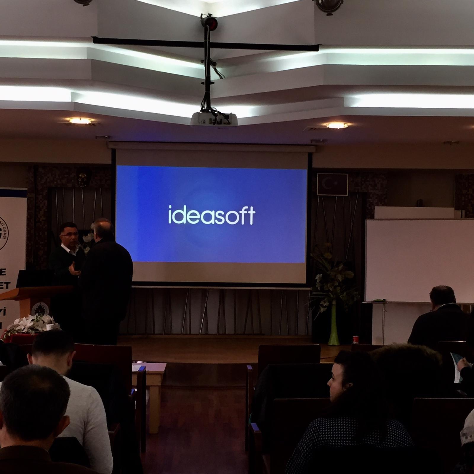 Düzce Ticaret ve Sanayi Odası'nda IdeaSoft ve E-Ticaret alt yapıları hakkında bilgi verdik.