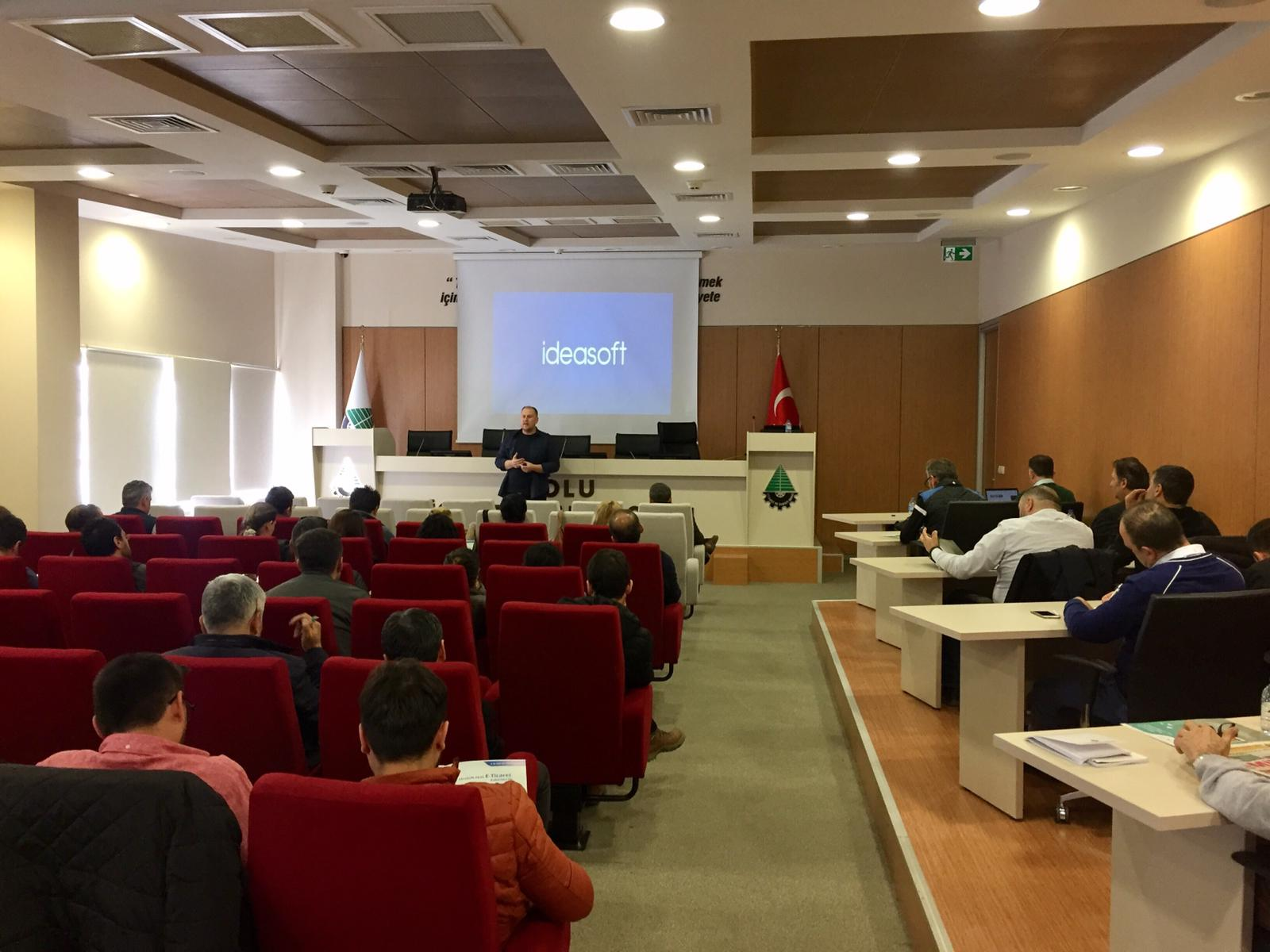 Bolu Ticaret ve Sanayi Odası'nda IdeaSoft ve E-Ticaret alt yapıları hakkında bilgi verdik.
