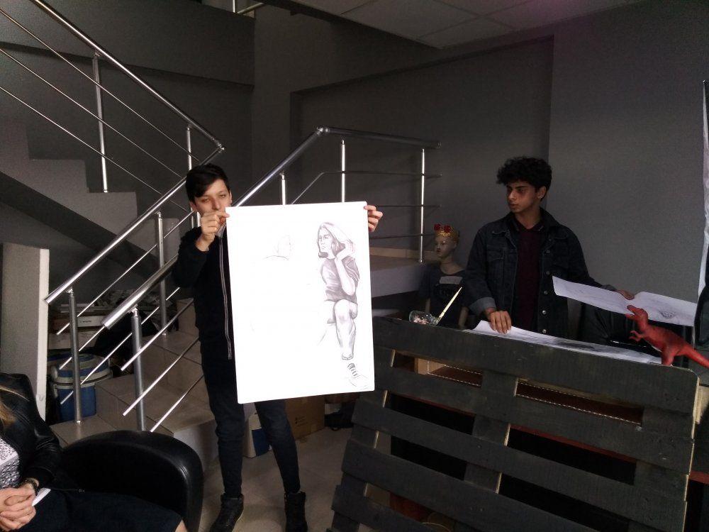 Düzce Güzel Sanatlar Lisesi Öğretmen ve Öğrencilerini Misafir Ettik