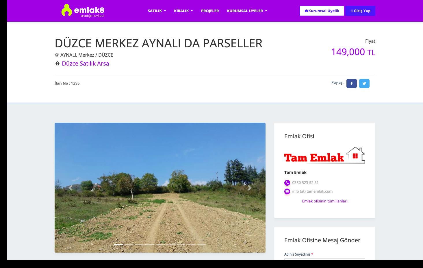 Türkiye'de emlak pazarının çok hızlı bir şekilde değer kazandığını düşünürsek 2019 yılı içinde Emlak8.net'den daha fazla söz edeceğimizi söyleyebiliriz.