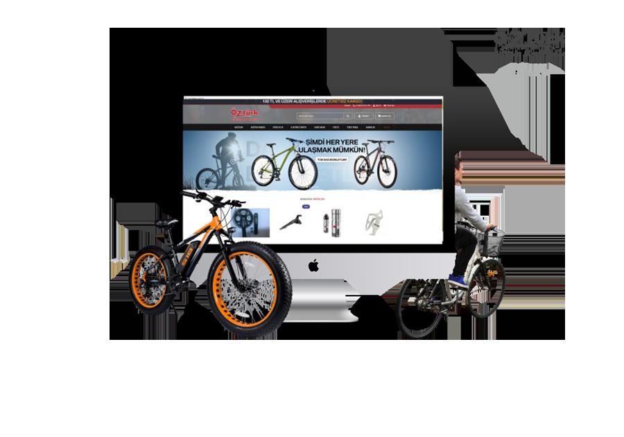 Öztürk Bisiklet E-Ticarette!