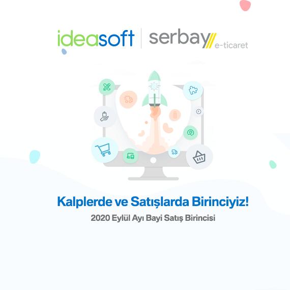 IdeaSoft 2020 Eylül Ayı Bayi Satış Birincisiyiz!