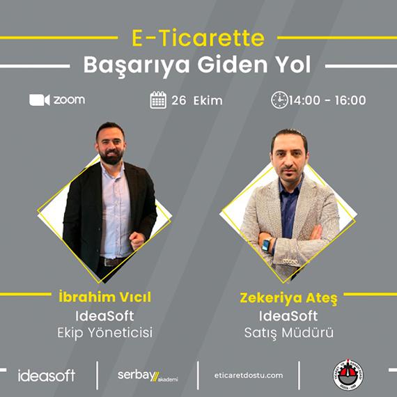 """""""E- Ticarette Başarıya Giden Yol"""" Online Eğitimi"""