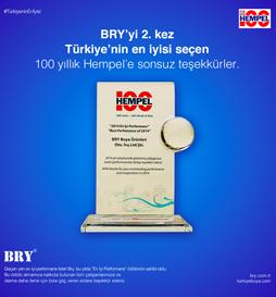 2. Bry Boya Ödül Lansmanı