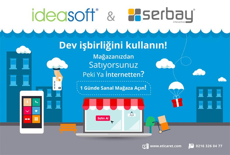 Serbay Interactive, E-Ticaret sektöründe IdeaSoft Düzce yetkili bayisidir.