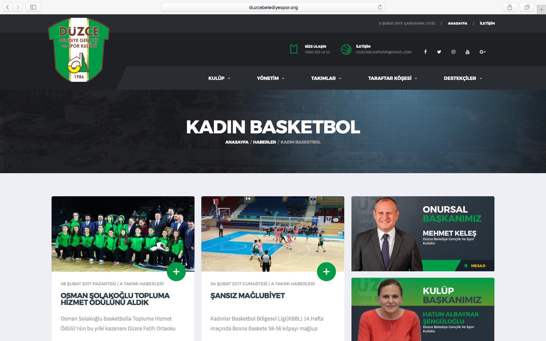 Düzce Belediye Gençlik ve Spor Kulübü