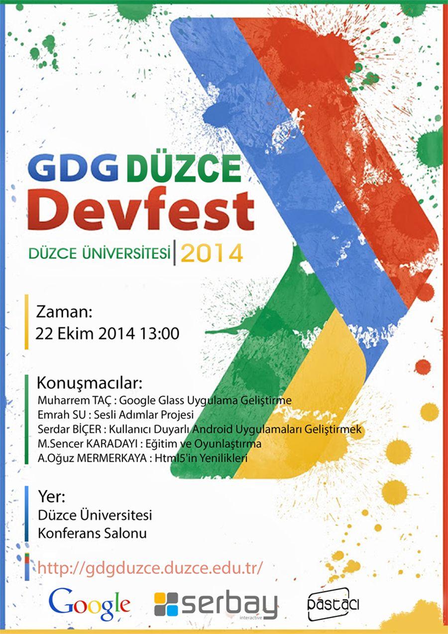 GDG Düzce DevFest'teyiz!