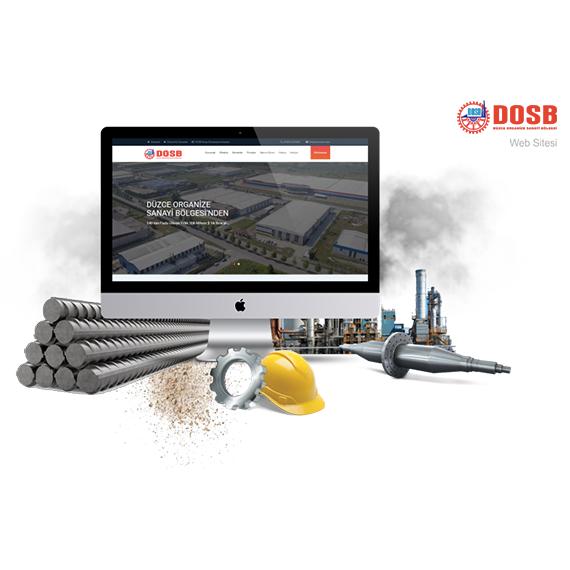 Düzce Organize Sanayi Bölgesi Müdürlüğüne ait Web Sitesi Yenilendi