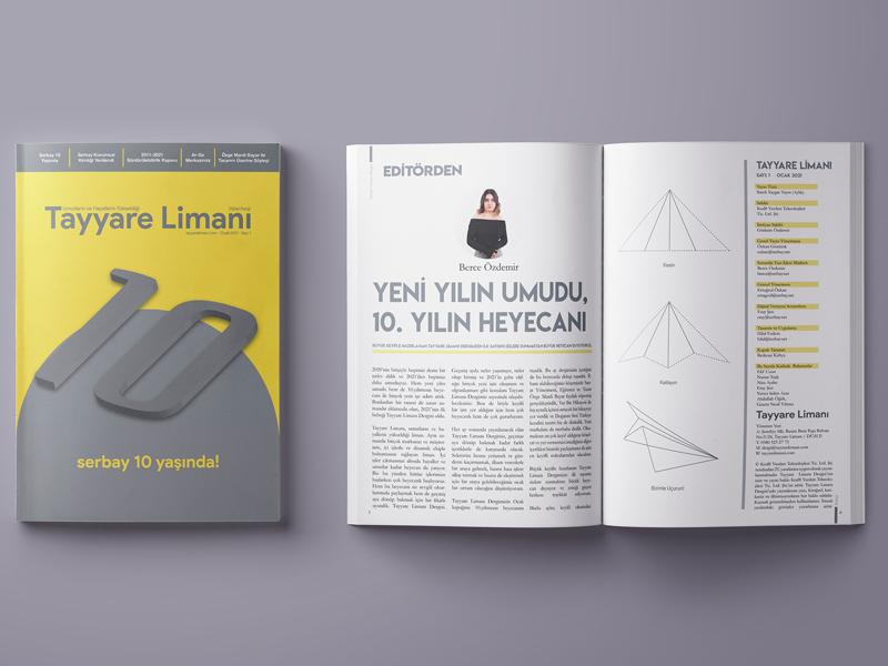 Tayyare Limanı Dergisi 2021 yılının Ocak ayıyla birlikte dijital dergi olarak yayın hayatına başlıyor.